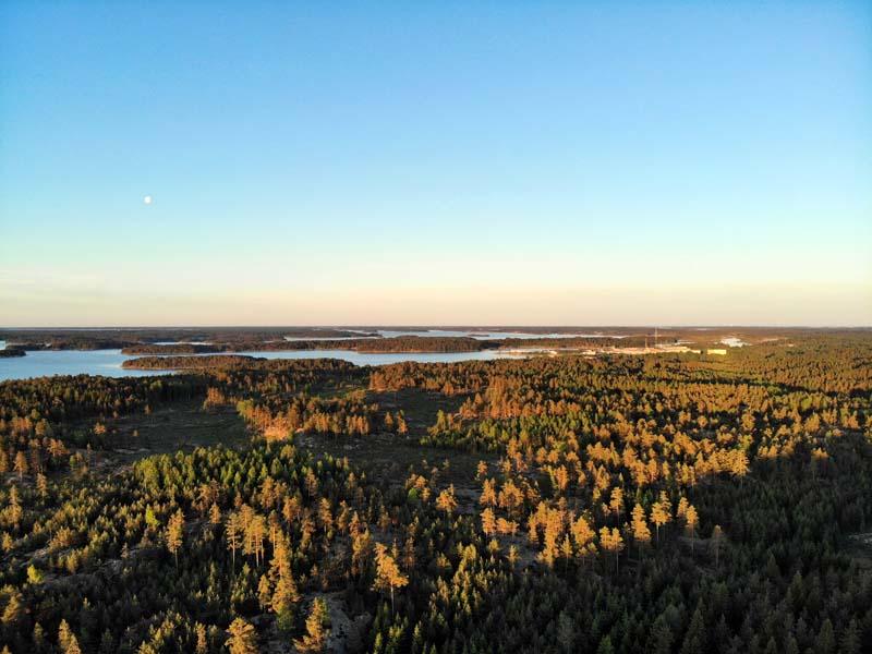 Senatsberget naturstig & vindskydd