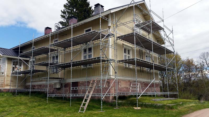 Rakennustelineiden vuokraus Stefan Ekblad