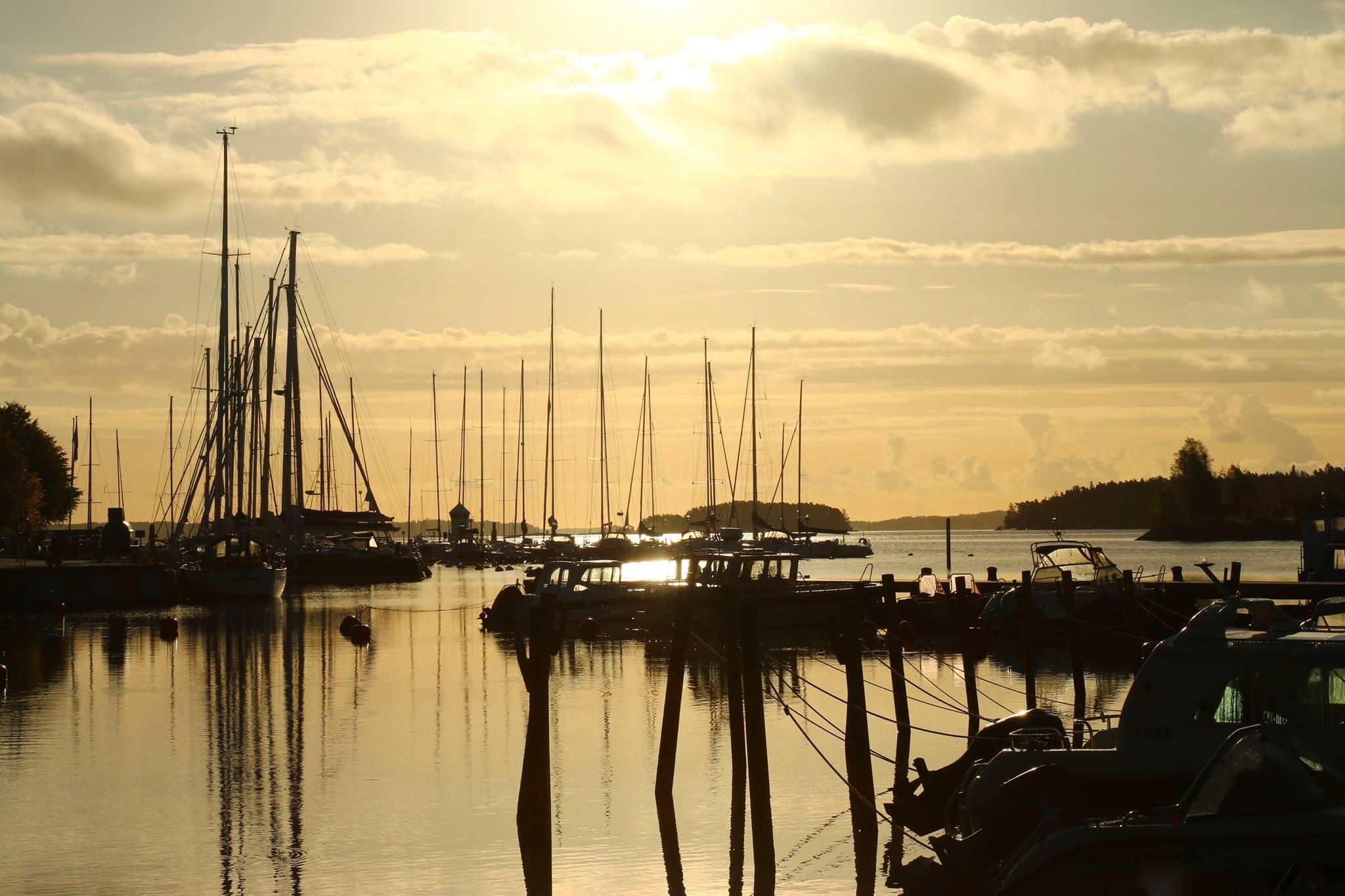 -Ny småbåtshamn i i Dalsbruk